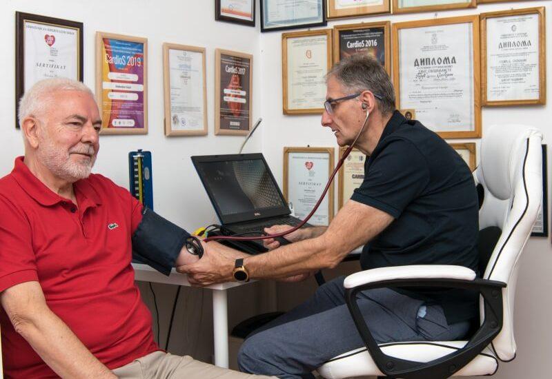 Nizak krvni pritisak - hipotenzija - hypotensia